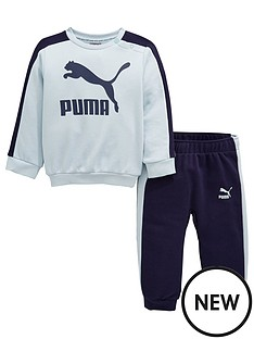 puma-baby-boys-minicats-crew-jogger-set