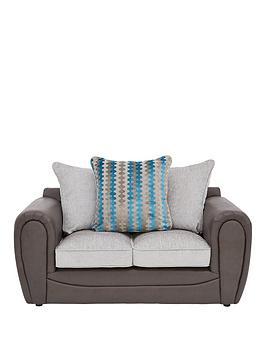 Very Calluna Fabric 2 Seater Scatter Back Sofa Picture