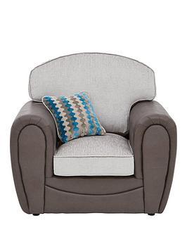 Very  Calluna Fabric Armchair