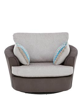 Very Calluna Fabric Swivel Chair Picture