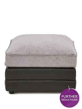 sansanbspfaux-snakeskin-and-fabric-footstool