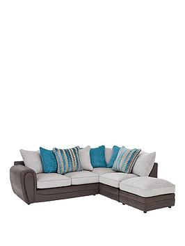 Very Calluna Fabric Right Hand Scatter Back Corner Chaise Sofa And  ... Picture