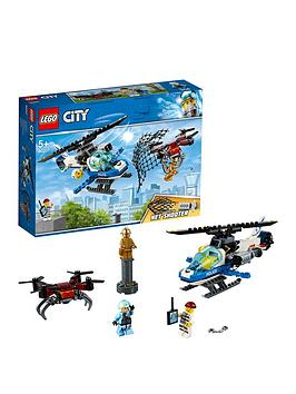 LEGO City  Lego City 60207 Sky Police Drone Chase