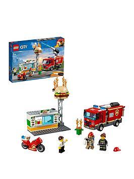 LEGO City Lego City 60214 Burger Bar Fire Rescue Picture