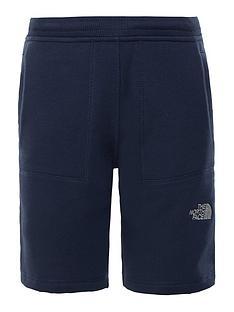 the-north-face-boys-fleece-shorts-blue