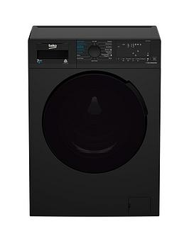 Beko   Wdb7426R1B 7Kg Wash, 4Kg Dry, 1200 Spin Washer Dryer - Black
