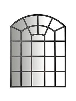 Very Black Window Mirror Picture
