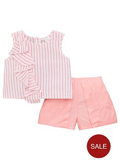 mini-v-by-very-girls-stripe-ruffle-top-and-short-outfit-pink