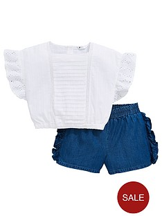 mini-v-by-very-girls-broderie-anglaise-top-amp-ruffle-short-outfit-multi