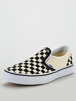 Vans Vans Checkerboard Classic Slip-On Picture
