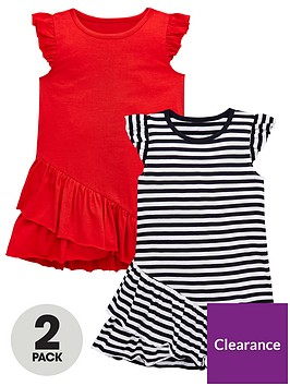 mini-v-by-very-girls-2-pack-frill-hem-jersey-dresses-multi