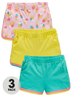 mini-v-by-very-3-pack-ice-cream-racer-shorts-multi
