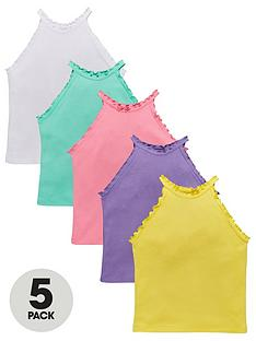 v-by-very-girls-5-pack-halter-vests