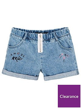 v-by-very-girls-zip-front-denim-shorts-blue