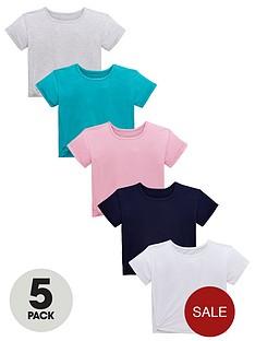 v-by-very-girls-5-pack-twist-side-jersey-tops-multi