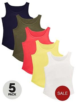 v-by-very-girls-5-pack-vests-multi