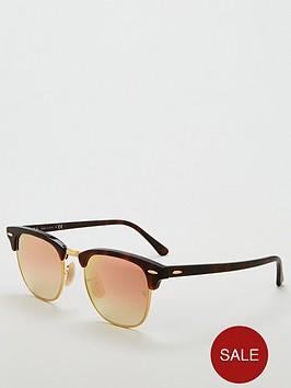 ray-ban-rayban-clubmaster-pink-lens-sunglasses