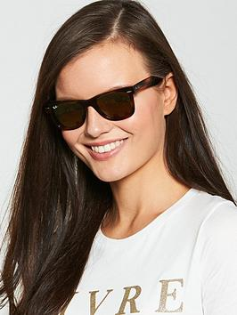 Ray-Ban Ray-Ban Tortoise Frame Lens Rectangle Sunglasses Picture