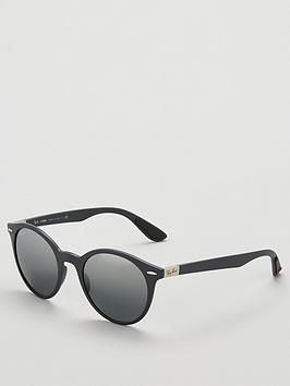 ray-ban-rayban-phantos-matte-dark-grey-sunglasses