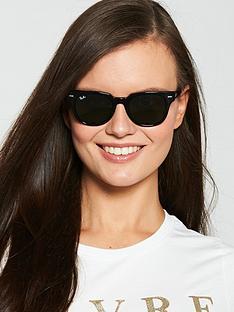ray-ban-meteornbspsquare-sunglasses-black