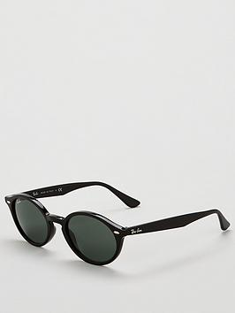 ray-ban-oval-cateyenbspthick-tinted-sunglasses-black