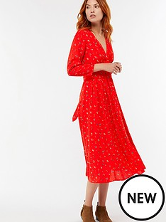 monsoon-betty-floral-print-midi-dress-rednbsp
