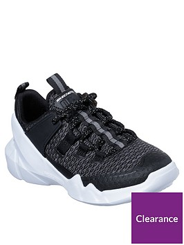 skechers-dlites-lightweight-lace-up-trainers-black