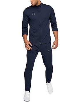Under Armour Under Armour Challenger Il Knit Warm Up Tracksuit - Navy Picture