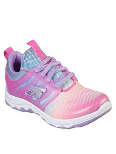 skechers-girls-diamond-runner-sparkle-mesh-trainers-neon-pinkmulti
