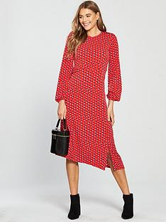 v-by-very-dotted-print-jersey-midi-dress