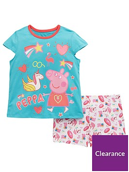 peppa-pig-girls-shorty-pyjamas-multi