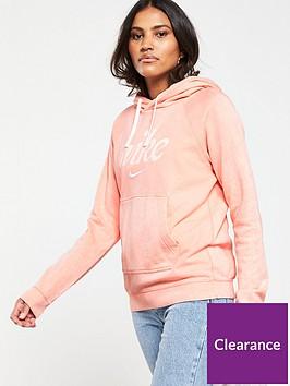 nike-sportswearnbspothnbspwashed-hoodie-coralnbsp