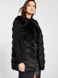 river-island-faux-fur-gilet-black