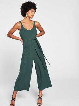 native-youth-leanne-tie-waist-cami-jumpsuit-green