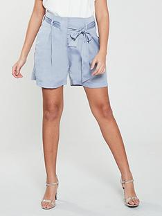 native-youth-native-youth-frida-paperbag-waist-shorts-w-pleats