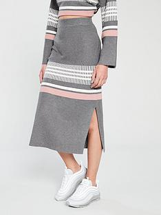native-youth-native-youth-janelle-placement-stripe-knitted-tube-skirt
