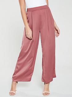 native-youth-anudari-pleated-front-awkward-length-pants-pink