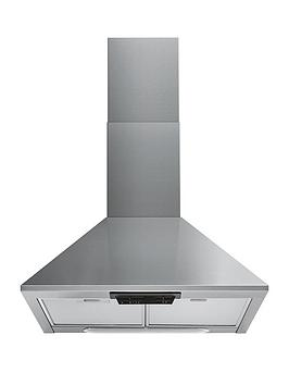Indesit Uhpm6.3Fcsx/1 60Cm Chimney Cooker Hood - Stainless Steel