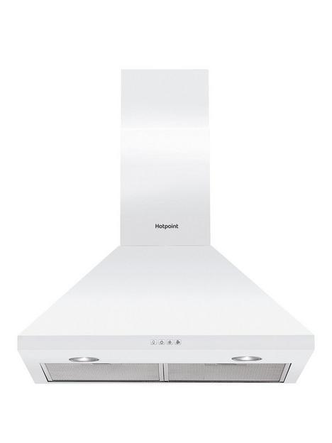 hotpoint-phpc65flmx-60cmnbspwide-pyramid-cooker-hood--nbspwhite