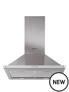 hotpoint-phpn65flmx-60cm-pyramid-cooker-hood-stainless-steel