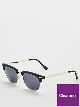 v-by-very-blackgold-clubmaster-sunglasses