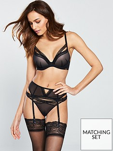 gossard-sheer-seduction-suspender-belt-black