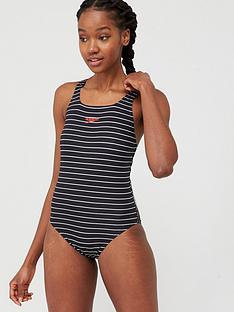 speedo-endurancereg-medalist-swimsuit-blackwhitenbsp