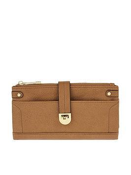 accessorize-fliplock-foldover-wallet-purse-tannbsp