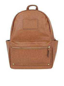 accessorize-dome-backpack-tan