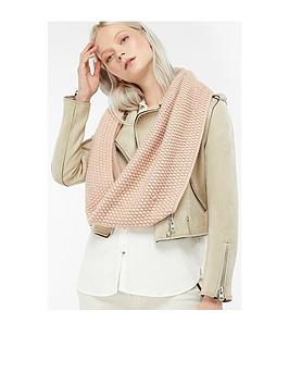 accessorize-sparkle-bobble-stitch-snood-pink