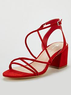 22bc39c19334 V by Very Gwen Strappy Heeled Sandal