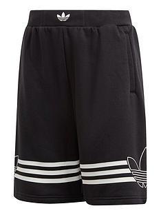 adidas-originals-boys-outline-shorts