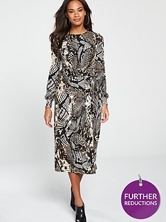 v-by-very-jersey-midi-dress-animal-print
