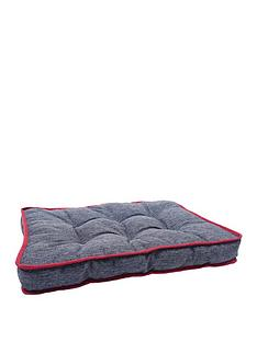 rosewood-two-tone-padded-pet-mattress-grey